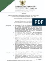 Renstra Kementerian ATR.bpn 2015 s.d 2019