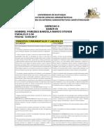 Derecho II Deber Numero 4 Articulos Comparacion PDF Marco Paredes