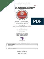 Informe#2_(Mecanica de Fluidos)
