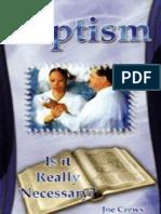 Baptism Is It Really Necessary - Joe Crews.epub