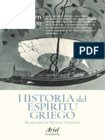 Nestle Wilhelm - Historia Del Espiritu Griego