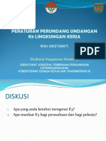 Per UU PK3 Pemantauan Lingkungan Kerja