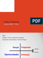 Gestão e Marketing Análise SWOT - FFOA