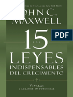 Maxwell 15 Invaluable Laws of Growth