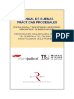 20120413 Manual Buenas Prácticas procesales en los  Registros TSJ Murcia