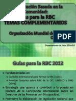 7. Rbc Complementario - Guías Para La Rbc Oms_2012