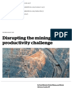Disrupting the Mining Productivity Challenge - AusIMM Bulletin