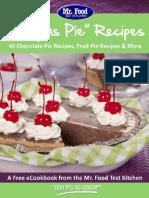Easy as Pie Recipes 40 Chocolate Pie Recipes Fruit Pie Recipes More