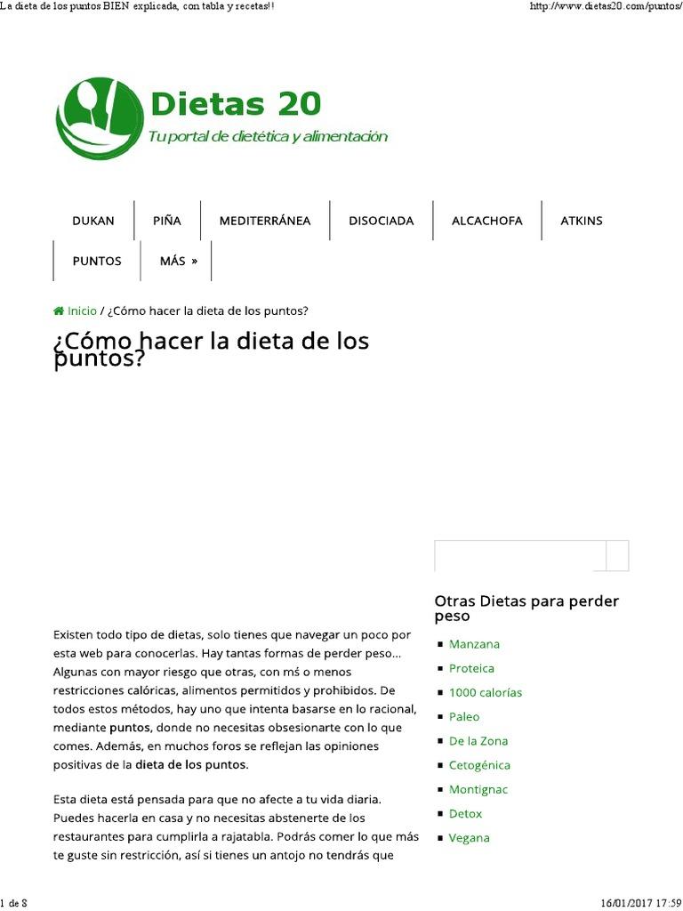 La dieta dukan pdf download gratis