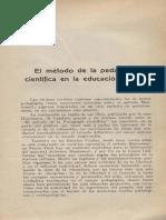 2.- El Método de la Pedagogía científica - Montessori.pdf