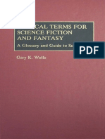 Wolfe Critical Terms for Science Fiction and Fantasy