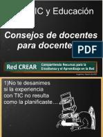 Tic y Educación - Consejos de Docentes Para Docentes