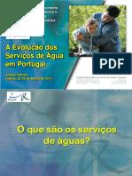 2012 Mar Evolução Dos Serviços de Aguas JMB