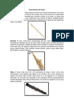 5 Instrumentos de Viento