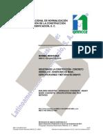 organismo nacional de normalizacion y  certificación de la construcción y la edificación