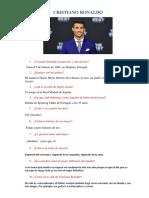 Entrevista a Cristiano Ronaldo