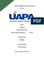 Sociologia - Actividad 6 - Junior Then