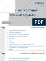 CASEN 2015 Resultados Pueblos Indigenas