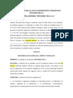 Constitucion de La Empresa NETGEEK