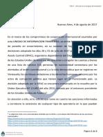 Comuniacion masiva UIF por funcionarios venezolanos