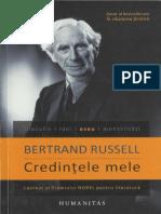 Bertrand Russell - Credintele mele .pdf