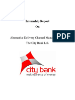 Alternative Delivery Channel of Bank