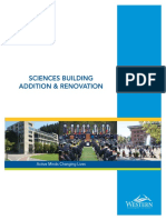 Sciences Building Proposal Binder With Cover