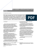 Breves Análises Sobre o Private Equity No Brasil