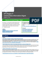 EPA Region 7 Communities Information Digest - August 3, 2017