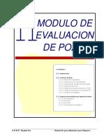 11 Modulo de Evaluacion Del Pozo