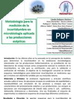 Incetidumbre de las mediciones en microbiología