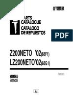 Z200 Parts Catalogue