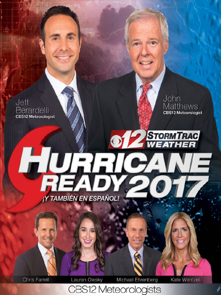 CBS 12 Hurricane Guide | Storms | Weather Forecasting