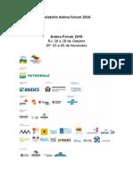 Relatório Anima Forum 2016