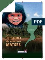 RENIEC - Tesoro Nombres Matses