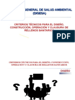 DIGESA CRITERIOS TECNICOS