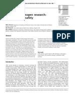 Human hallucinogen research
