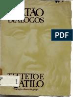 Platão - TEETETO e CRÁTILO.pdf