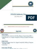 FFG(X) Industry Day Brief FINAL