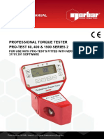 Manual Pro Test 1500 Ingles