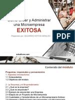 Introduccion El Emprendimiento y Los Empresarios y Principios Fundamentales de Administracion