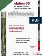Solution Gas Separator