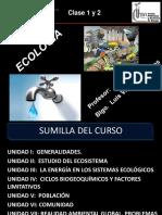 Clases 1 y 2 Ecología 2017