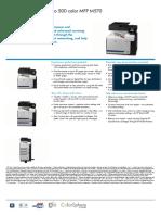 HP LaserJet Pro 500 Colour MFP M570 Datasheet