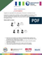 The Roles of Supervisors and Invigilators
