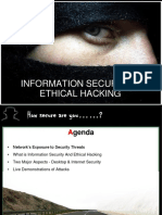 Information security ethical hacking