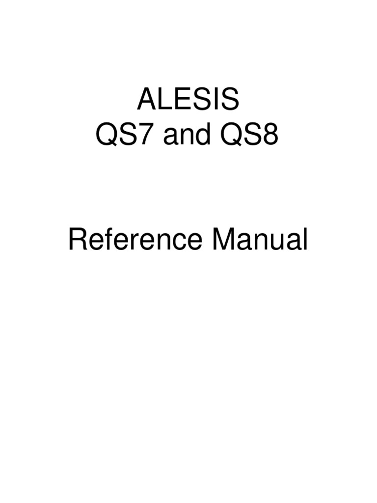 Alesis Qs8 Keyboardpdf This Is The Wiring Schematic For Roland Ev5 Expression Footpedal