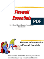 Firewall Training