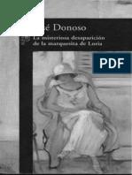 La misteriosa desaparicion de l - Donoso, Jose.epub