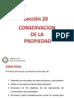Conservacion de La Propiedad